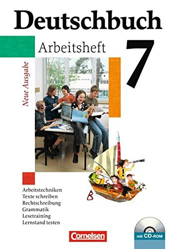 Deutschbuch Gymnasium - Allgemeine Ausgabe: Deutschbuch 7. Schuljahr. Arbeitsheft. Gymnasium. Allgemeine Ausgabe. Neue Ausgabe