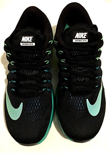 Nike Herren Air Max 2016 Low-Top Black/Green