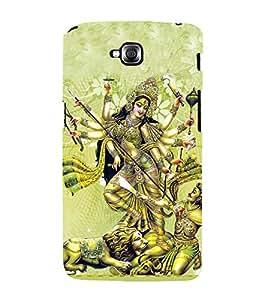 Maa Durga 3D Hard Polycarbonate Designer Back Case Cover for LG G Pro Lite :: LG Pro Lite D680 D682TR :: LG G Pro Lite Dual :: LG Pro Lite Dual D686