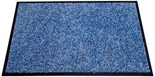 miltex 22010-4 Schmutzfangmatte Eazycare, 40 x 60 cm, waschbar, blau