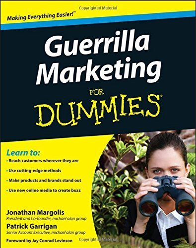 Guerrilla Marketing For Dummies by Jonathan Margolis (2008-10-03)
