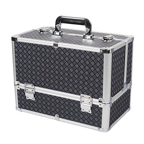 hst-large-black-mosaic-large-square-aluminium-classic-grid-storage-vanity-make-up-cosmetic-box-case-