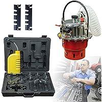 SHIOUCY - Kit de Herramientas para purgar la presión del Aire para el Freno neumático del Garaje, Extractor de Aceite y Bomba de Transferencia de líquido y Aceite para el Coche, 5 L