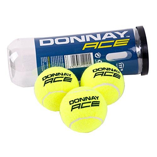Preisvergleich Produktbild Donnay Tennisbälle 3 St,  Grün Fluo,  One Size