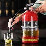 Red tide Nueva 2L Extintor Beber Vino Dispensador Coctelera Bomba de Licor de la Cerveza de Soda Vino Dispensador de Agua La Barra de Herramientas Accesorios