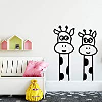 Creative Giraffe Wall Sticker Modern Fashion Wall Sticker Living Room Children