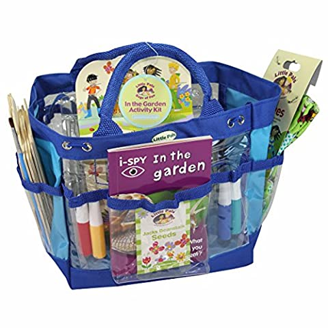 Little Pals In the Garden Activity Kit with Bird House, Mini Greenhouse and Activity Book