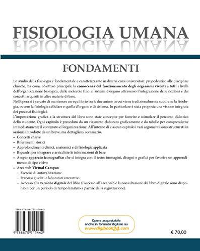 Zoom IMG-1 fisiologia umana fondamenti con e