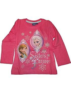 Disney Die Eiskönigin Langarmshirt in Pink, Rosa oder Blau Gr. 98, 104, 116, 128