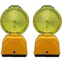 Pal Ferretería Industrial 2 Balizas de señalizacion/lamparas de Destellos. No Incluyen baterias
