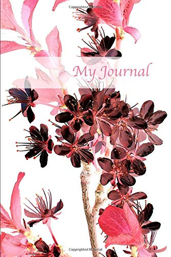 My Journal. Cherry Blossom Cover Design. Blank Journal Notebook Planner Diary. - And Beautiful Works Bath Von Day Body