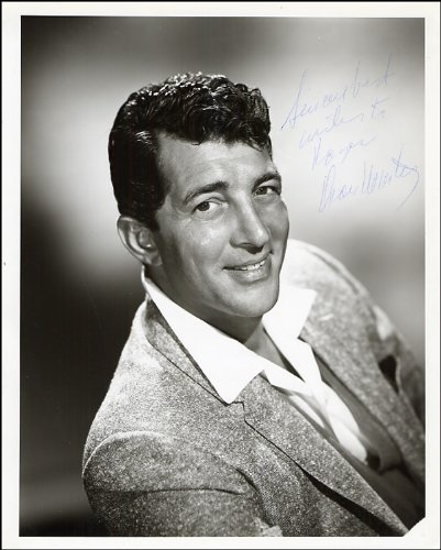 dean-martin-autograph-glossy-photo-print-approx-size-12x8-inches