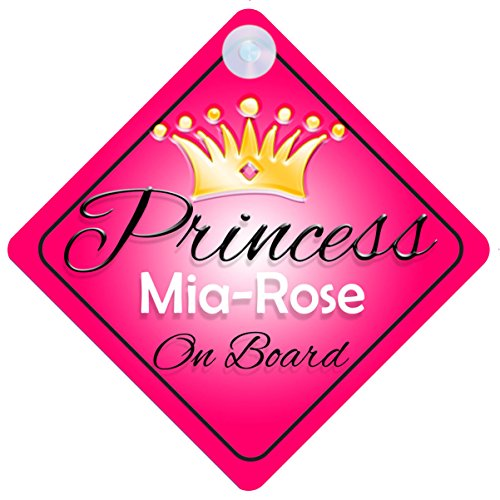 princess-mia-rose-on-board-personalised-girl-car-sign-baby-child-gift-001