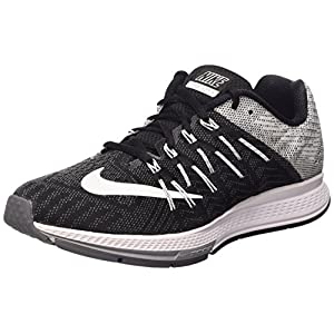 newest collection bab96 65083 Nike Air Zoom Elite 8 Zapatillas de Running, Hombre, Negro Blanco   Gris