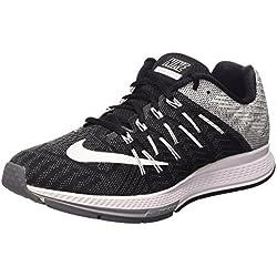 Nike Air Zoom Elite 8, Zapatillas de Running para Hombre, Negro/Blanco / Gris (Black/White-Wolf Drk Grey), 42 EU