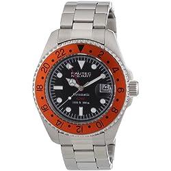 Nautec No Limit Men's Deep Sea Watch DS AT-GMT/STSTORBK