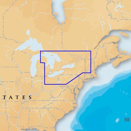 NAVIONICS Platinum + SD 901East großen Seen Nautisches Diagramm auf SD/Micro-SD-Karte-MSD/901P + Große Seen Sd Karte