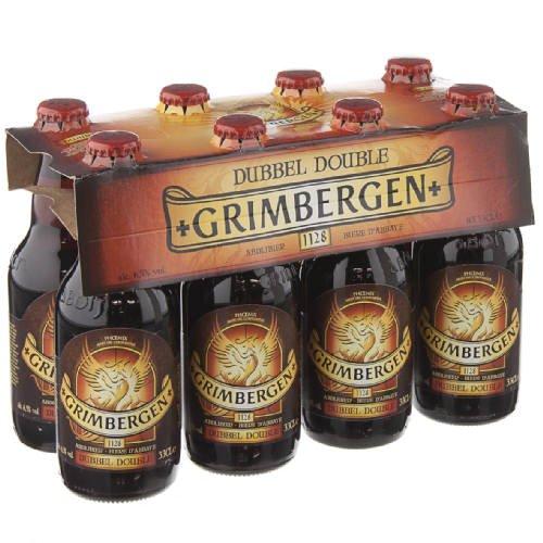 original-belgisches-bier-grimbergen-double-65-vol-8-x-33-cl-abteibier-hohe-garung-dunkelbraun-bier-f