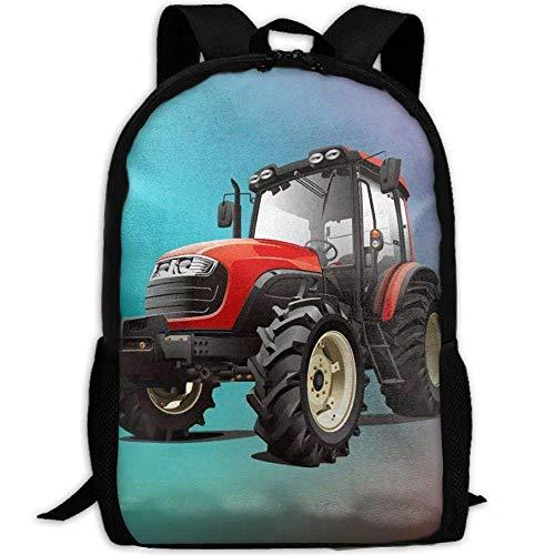 Neue Traktor 3D Print Rucksack College School Laptop Tasche Daypack Reise umhängetasche für Unisex