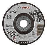 BOSCH Schruppscheibe gekröpft, Best für Inox A 30 V BF, 125 mm, 22,23 mm, 7 mm, 2608603511