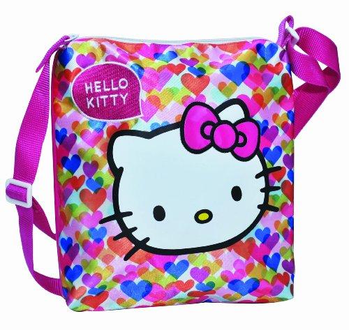 Hello Kitty Tasche Handtasche Shopper 26x26x3cm 375-1204 (Hello Handtasche Kitty)