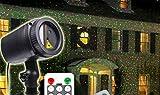 HAPPYMOOD Sternenhimmel Projektion Lampe Wasserdicht LED Star Bilder Garten Weihnachten Festival Dekoration Landschaft Anzeigen