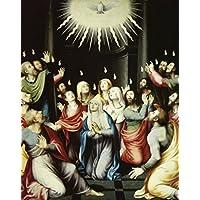 Juan Juanes – The Pentecost Juan Juanes (1510-1579 Spanish) Poster Print (60.96 x 91.44 cm)