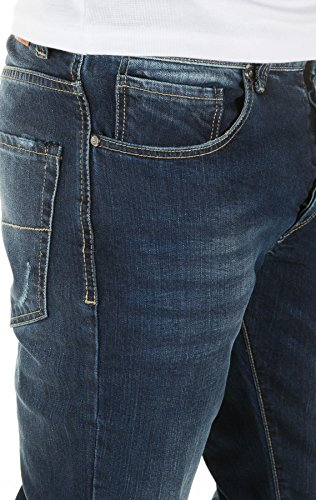 Yazubi Herren Jeans Balmond slim fit vintage mood indigo (4025)
