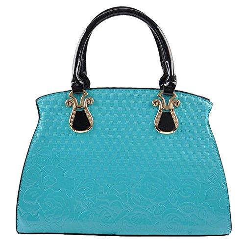 SHUhua - Sacchetto donna blue