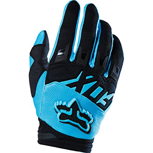 Fox 2016 Motocross MTB Gloves Dirtpaw Race Aqua Blue