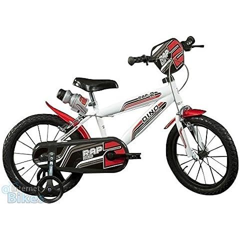 "Dino Bikes 414 U bianca bicicletta 14"" serie MTB"