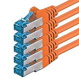 Best Cavi Ethernet - 1,5m - arancione - 5 pezzi - Rete Review