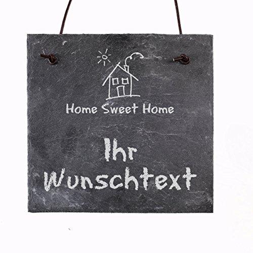hild - Home Sweet Home - mit eigenem Wunschtext ()