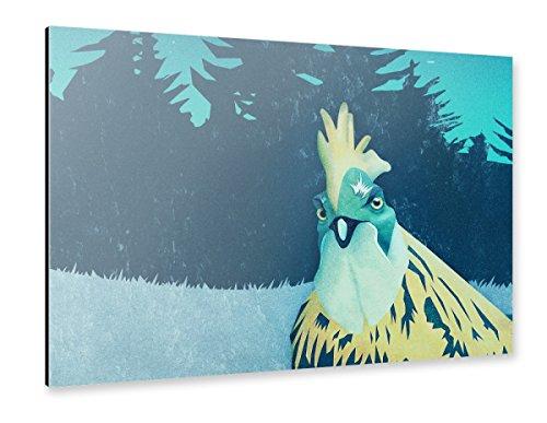 artboxONE Alu-Print 90x60 cm What the Hegg'! von Künstler Romina Lutz