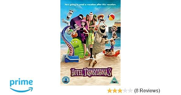 Hotel Transylvania 3 DVD 2018 Amazoncouk Blu Ray