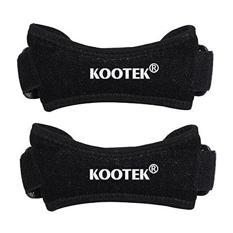 Kootek 2 Stück Kniegurt Kniebandage Patella Bandage Einstellbare Neopren Knieschutz