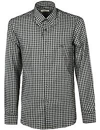 93c7d1e39b Amazon.es  cuadros blanco y negro - 52   Camisas casual   Camisas  Ropa