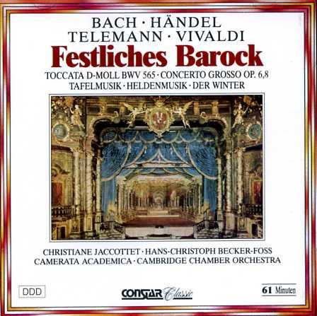 Festliches Barock, Toccata D-Moll BWV 565, Concerto Grosso OP. 6,8, Tafelmusik, Heldenmusik, Der...