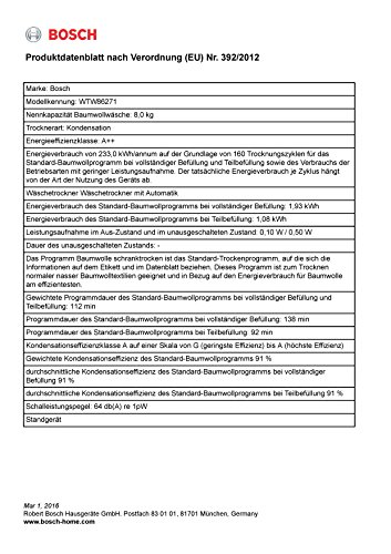 Bosch WTW86271 Wärmepumpentrockner - 3