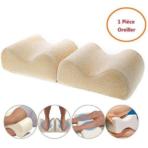 cenblue Memory Foam Bein Kissen Orthopädische Schlafposition Unterstützung Kissen festes Rückenteil Hüften & Füße Supporter (Erholsamen Bein-unterstützung)