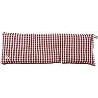 Cuscino coolpack XL lungo 14x41 cm. noccioli di ciliegia riscaldabile in forno o microonde