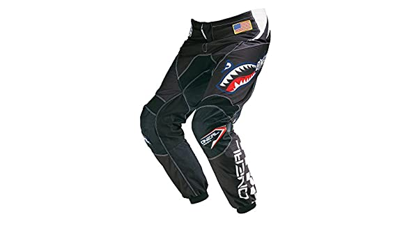 ONeal Element Jersey Acid Bleu de Motocross Rouge Motocross Enduro Maillot Cross Moto 0016/A