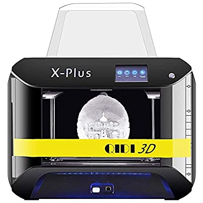 XINDI QIDI TECH 3D-Drucker, X-Plus-Verfahren für intelligentes industrielles 3D-Drucken mit Nylon, Kohlefaser, PC,0.05mm Hochpräzisionsdruck, Druckfläche von270 x 200 x 200mm