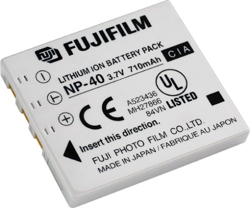 Fuji NP-40 Li-Ionen-Akku 710mAh für Fuji Finepix F700 / F610 710 Mah Lithium-batterie