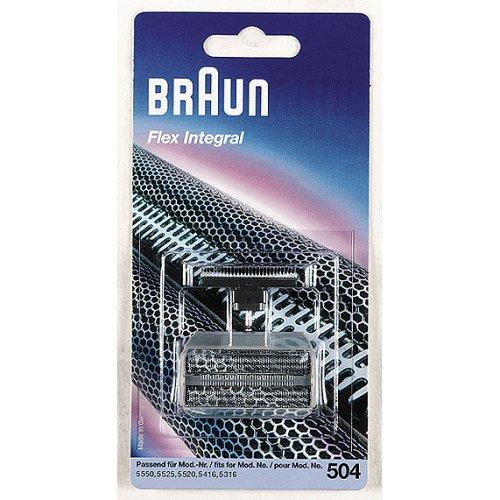 Braun Kombipack 504 für Herrenrasierer Flex integral+grau 5316/5520/5525/5550