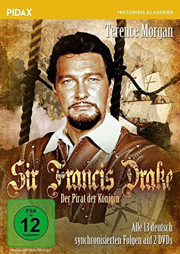 Sir Francis Drake - Der Pirat der Königin / Alle 13 deutsch synchronisierten Folgen der Abenteuerserie (Pidax Serien-Klassiker) [2 DVDs]
