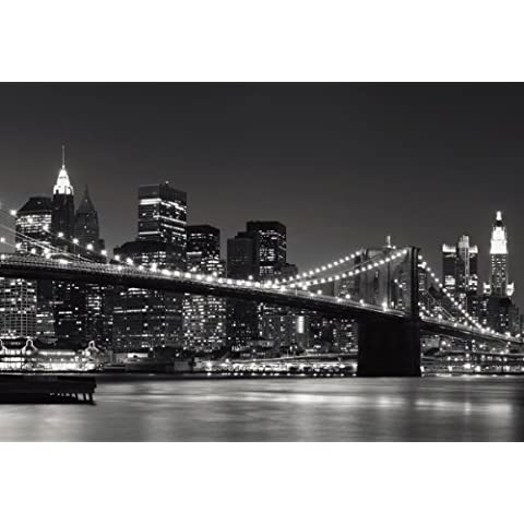 Eurographics DW-AU1064 New York Skyline - Póster decorativo para pared (254 x 366 cm)