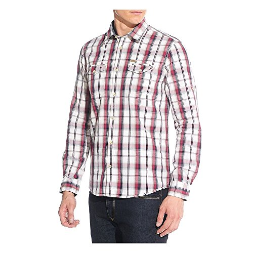 Chemise TOM TAILOR Ray Vintage Check Rouge