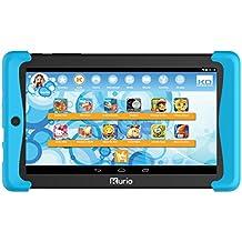 Kurio Tab2Motion 17.78cm (7pulgadas) de Tablet PC (MTK Mediatek Quadcore MTK8127, 1GB de RAM, 8GB HDD, Android) Azul/Negro