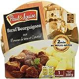 Paul & Louise Barquette Bœuf Bourguignon Pack de 8 300 g -